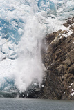 Ice Calving Off North Sawyer Glacier into Tracy Arm Fjord