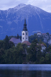 A Pilgrimage Church Dedicated to the Assumption of Mary on Bled Island (Blejski Otok)