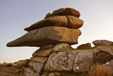 Granite Boulders Near the Cheeswring  Bodmin Moor  Near Liskeard  Cornwall
