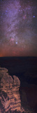 A View of the Night Sky over the Grand Canyon Made with an Astronomically Modified Camera