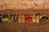 Childrens' Sandals at a Nursery School in Dung Ha Town  Vietnam