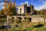 Bunratty Castle on the River Shannon in County Clare  Ireland