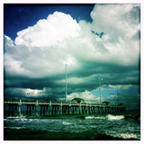 Jennettes Pier in Nags Head  North Carolina