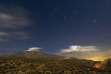 A Moonlit Autumn Night Above Mount Damavand