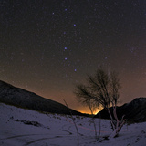 A Bright Meteor Streaks the Sky Near the Big Dipper