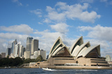 The Sydney Opera House in Sydney  Australia
