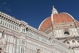 Partial View of the Santa Maria Del Fiore Cathedral  Including Dome