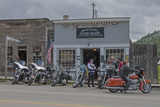 A Motorcycle Club Rests in a Ghost Town