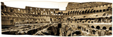 A Panoramic View of the Colosseum