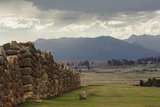 Incan Stone Walls  Part of a Temple and Palace Complex  Built 1480