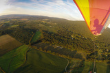 Hang Gliding over the Landing Field Near High Rock in the Cumberland Valley