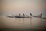 Fishermen on Inle Lake in the Early Morning