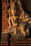 A Relief Carving at One of the Shwe Inn Thein Pagodas