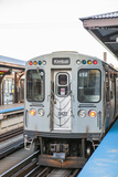 The Red Line Cta Pulling Out of the Merchandise Market Station