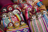 Woven Dolls Nesting in Colorful Woven Baskets