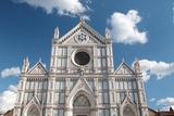 Facade of the Renaissance Santa Croce Church