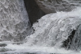 Flowing Water at a Dam