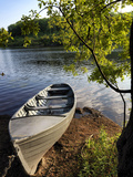 A Rowing Boat on Lough Oughter in Cavan