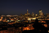 Nightscape of San Francisco's Financial District