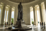 The Jefferson Memorial in Washington  Dc