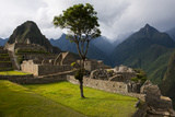 The Main Square at the Inca City of Machu Picchu