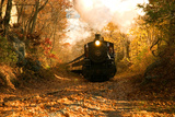 The Essex Steam Train Chugs Through the Autumn Forest