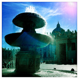 A Fountain in St Peters Square