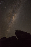 Stars in the Night Sky Above Fiordland National Park