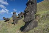 Moai of Hanga Roa