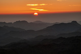 Sunrise at Mt Sinai