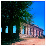Colonial Era Ruins on the Beach Near Aquadilla  Puerto Rico