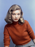 American Actress Lauren Bacall In the 40'S