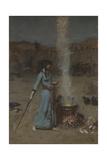 Le cercle magique Giclée par John William Waterhouse