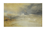 Waves Breaking on a Lee Shore at Margate (Study for 'Rockets and Blue Lights')