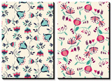 Tossed Tulip Garden Floral Patterns