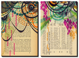 pg225 and Practice 2 Tableau multi toiles par Jaime Derringer