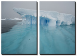 Blue Ice on the Antarctic Peninsula on the Edge of Antarctic Sound