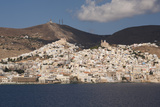 Ermoupolis  Capital of Cyclades Islands  Syros  Greek Islands  Greece  Europe