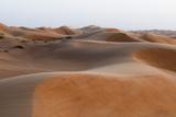 Wahiba Sands Desert  Oman  Middle East