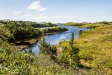 Beautiful Pond Near Port Aux Basques  Newfoundland  Canada  North America
