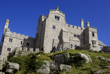 Castle House on St Michael's Mount  Marazion  Cornwall  England  United Kingdom  Europe