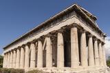 Temple of Hephaistos  Agora  Athens  Greece  Europe