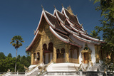 Haw Pha Bang Pavilion at Royal Palace  Luang Prabang  Laos  Indochina  Southeast Asia  Asia