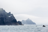 Fog Shrouds the Skellig Islands