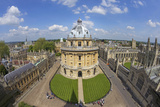 Radcliffe Camera and All Souls College from University Church of St Mary the Virgin