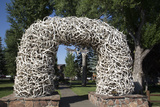 Elk Antler Arch  Town Square  Jackson Hole  Wyoming  United States of America  North America