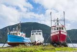 Fishing Boat in Corner Brook  Newfoundland  Canada  North America