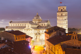 The Duomo Di Pisa and the Leaning Tower  Piazza Dei Miracolipisa  Tuscany  Italy  Europe