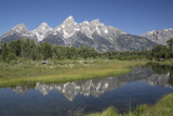 Water Reflections of the Teton Range