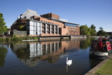 The Swan Theatre and Royal Shakespeare Theatre on River Avon